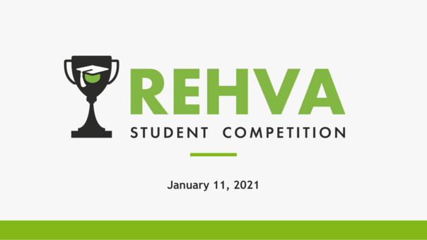 REHVA Student competition 2020